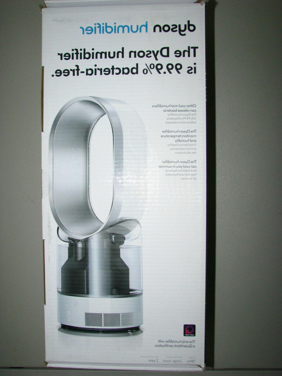 am10 humidifier white silver