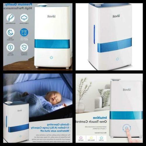 Baby Bedroom Cool Mist Humidifier 4.5L Ultrasonic Vaporizer
