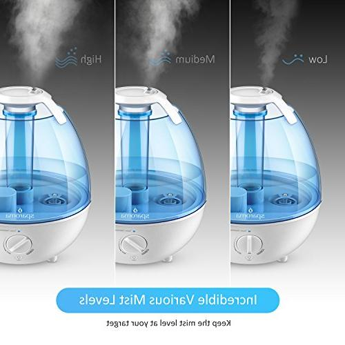 Cool Mist Ultrasonic for Mist Humidifiers High Mist Various Lights, Approved, Free