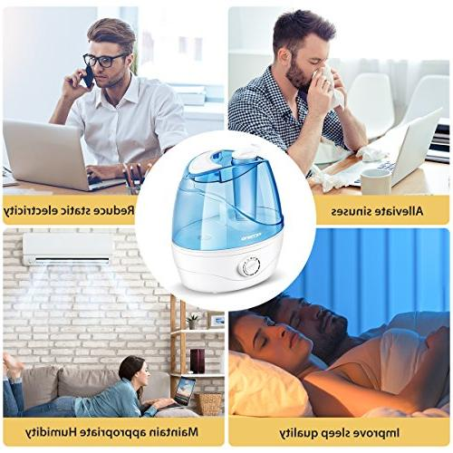 VicTsing Ultrasonic Baby, with Whisper-Quiet Hours Working Time