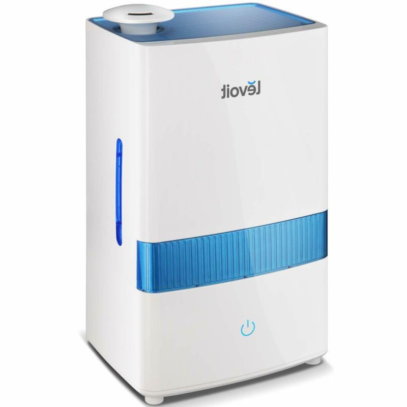 cool mist humidifier for bedroom 4 5l