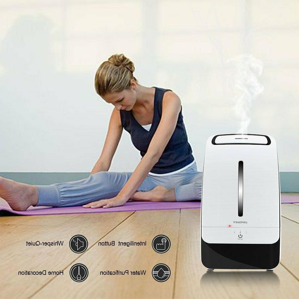 Cool Mist Humidifier Ultrasonic Whisper-Quiet Operation Mist Mode