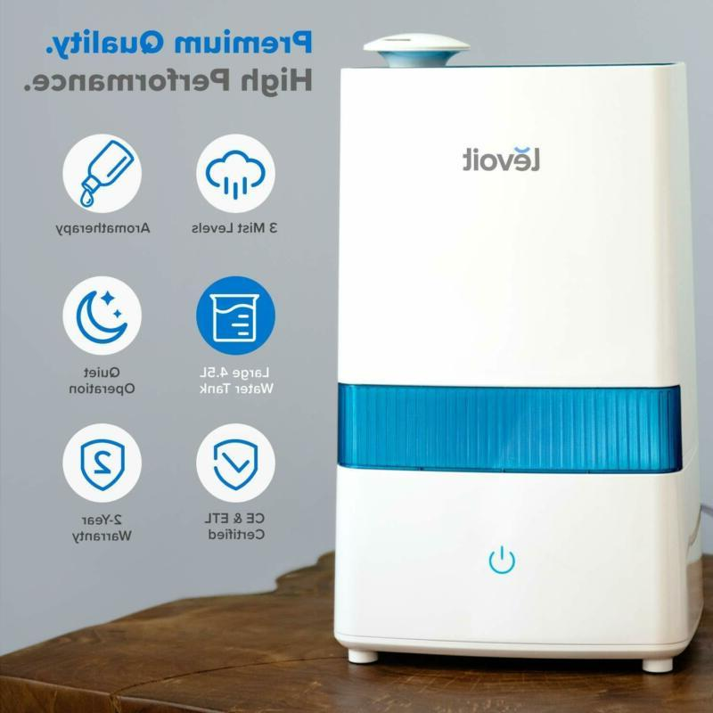 Levoit Mist Humidifier For 4.5L Air