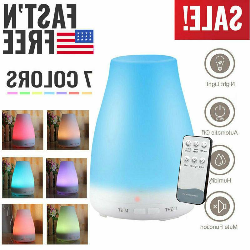 200ML Aroma Air 7 LED Essential Oil Diffuser Ultrasonic Arom