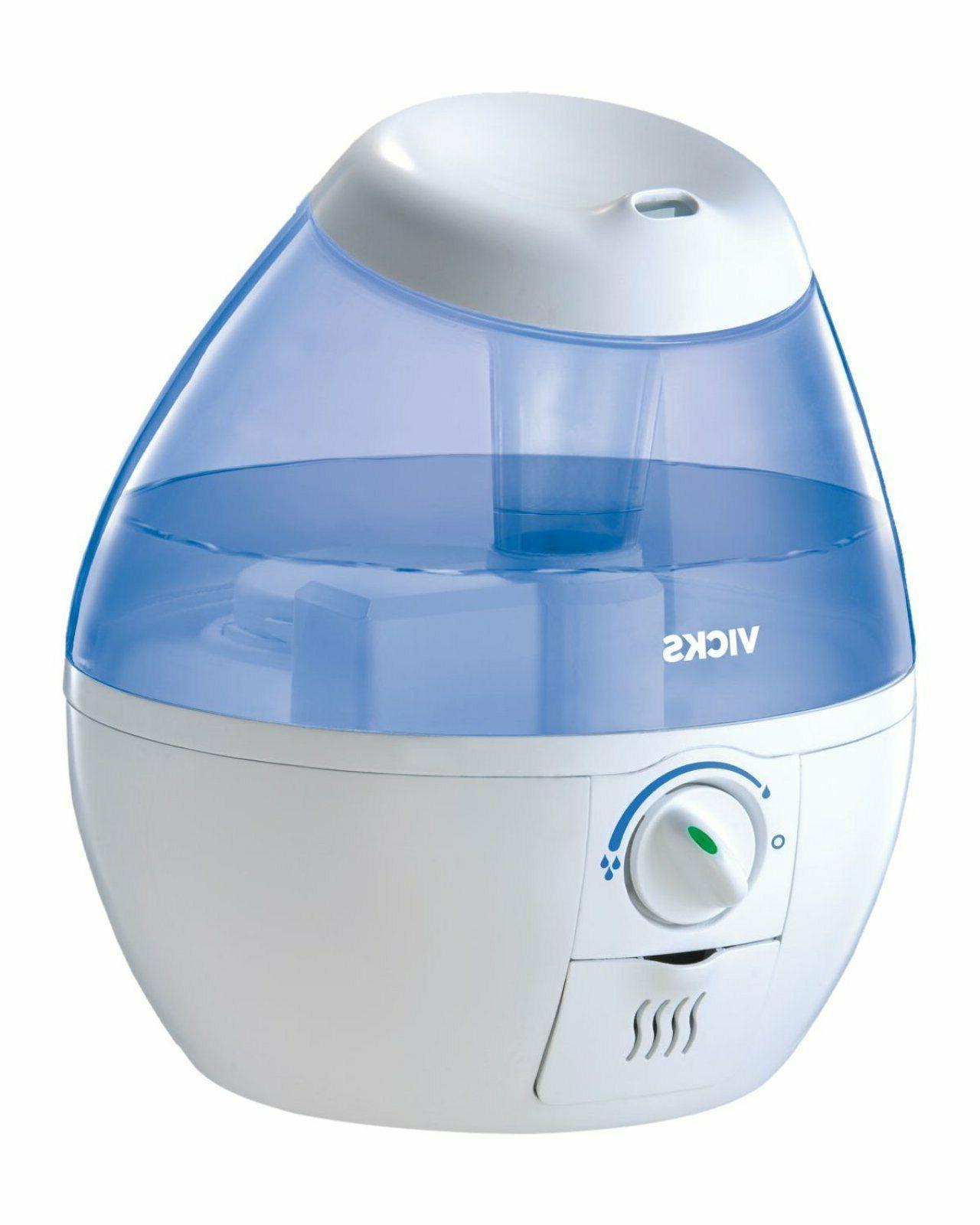 Cool Mist Humidifier Vaporizer Inhaler Filter Free 0.5 Gallo