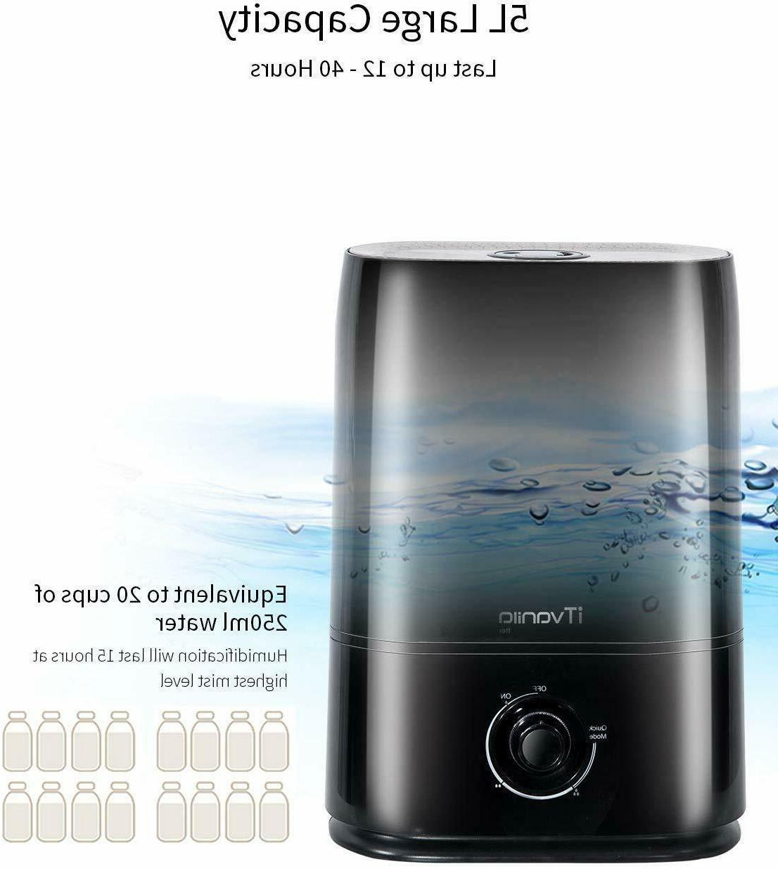 iTvanila 5L Humidifier Large Room