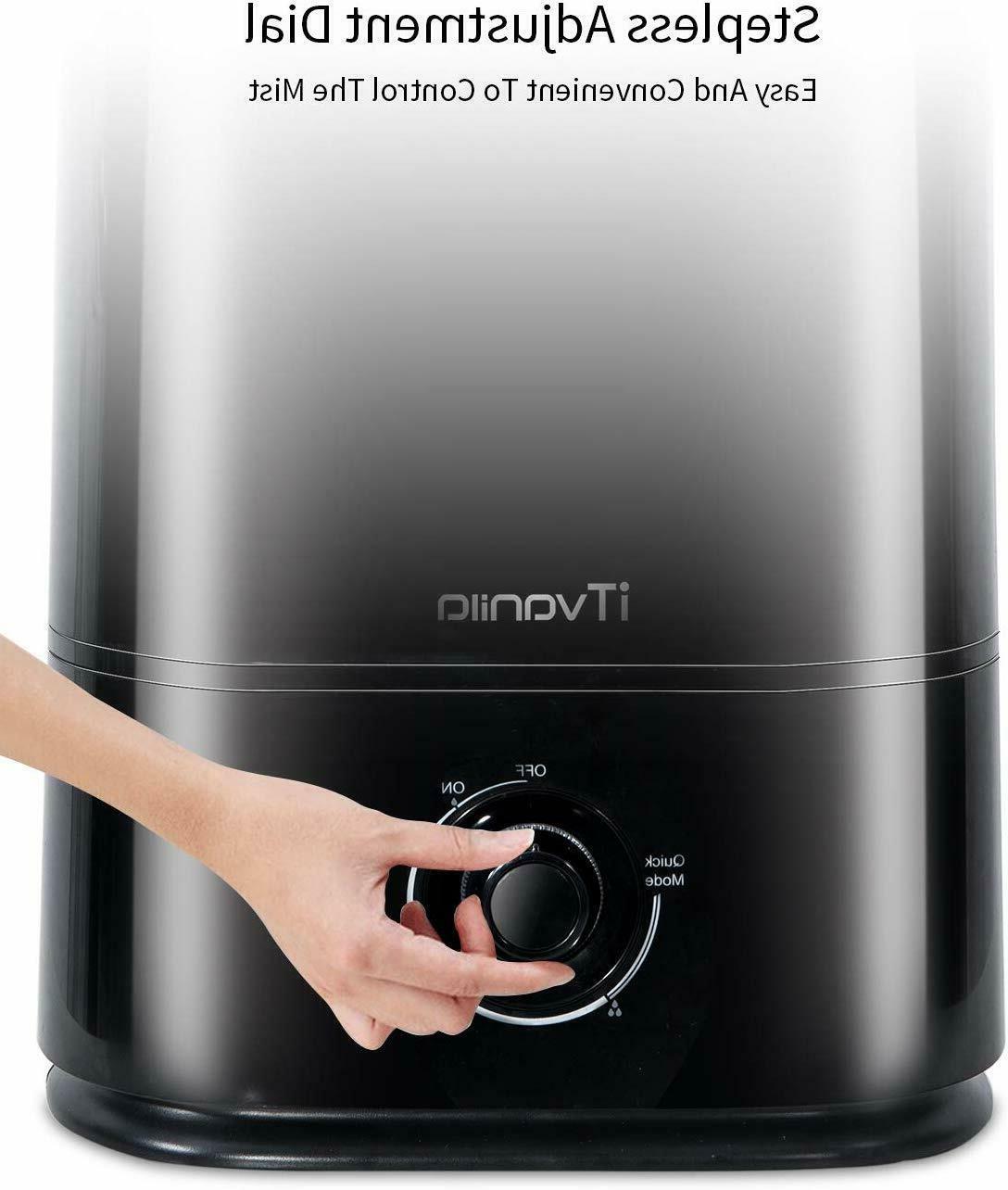 iTvanila Cool Humidifiers, 5L Large Room
