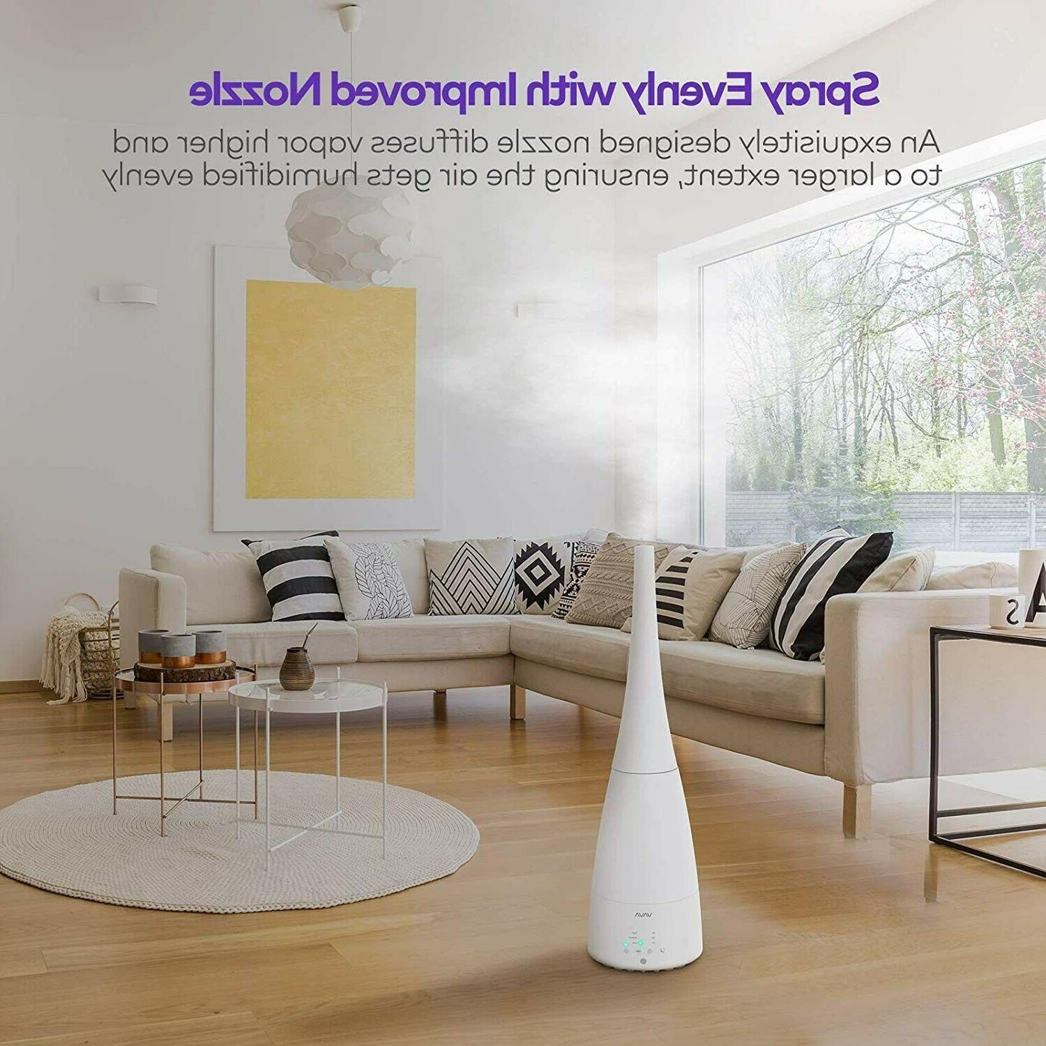 VAVA Cool Large Room, 3L Humidifiers for Home
