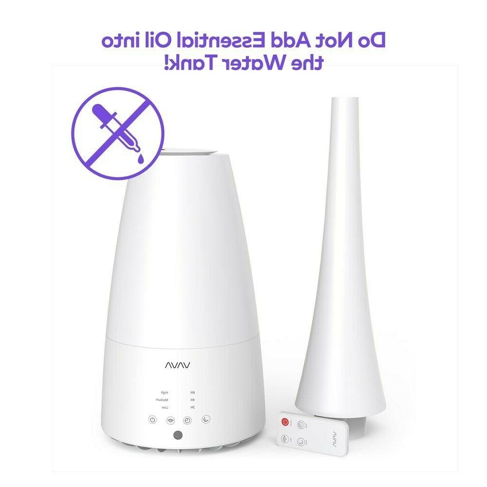 VAVA Mist Large Room, 3L Humidifiers for