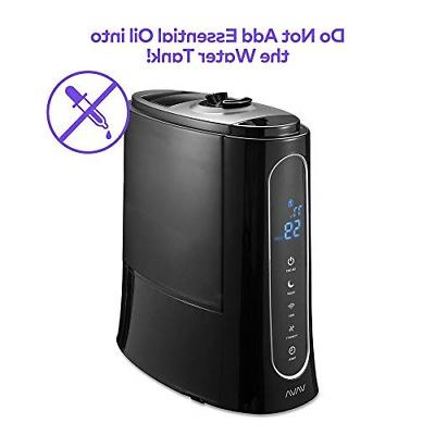 VAVA Cool Humidifiers, Space-Saving, 30H Operating Time with Humidity