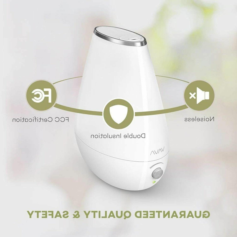 VAVA Cool Mist Ultrasonic Humidifier Baby Nursery