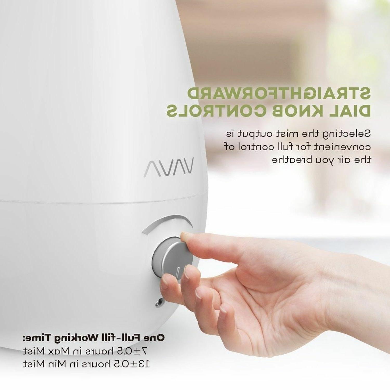 VAVA Humidifiers, Ultrasonic Humidifier for Baby Nursery