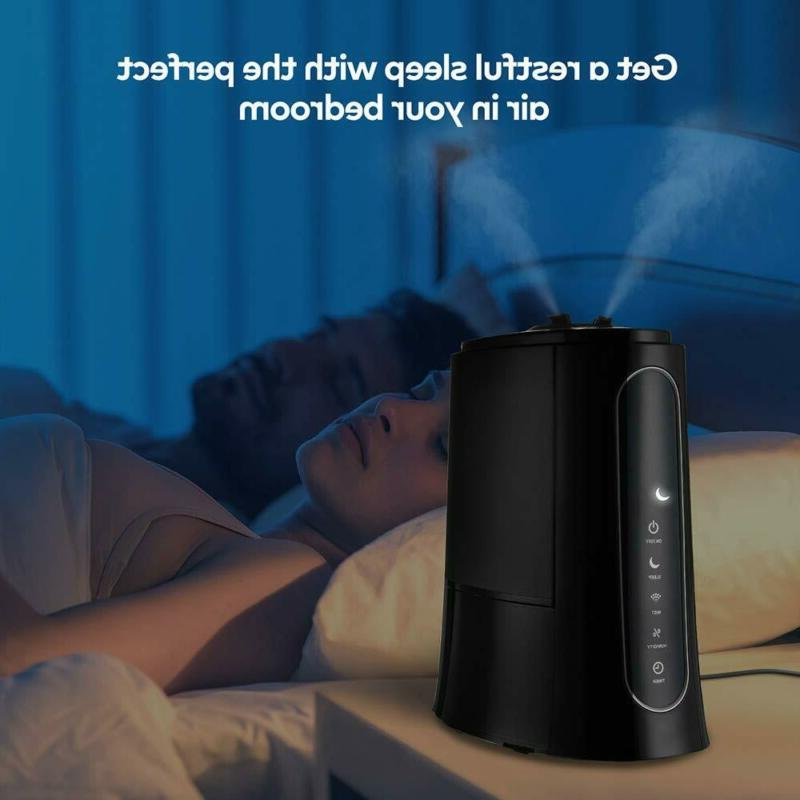 VAVA Cool Mist Humidifies for Bedroom Large Room, Customized S