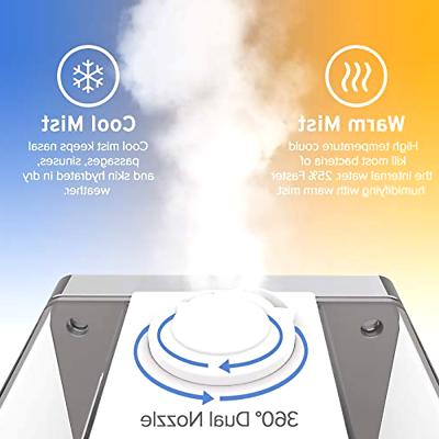 cool mist ultrasonic humidifiers vaporizer with remote