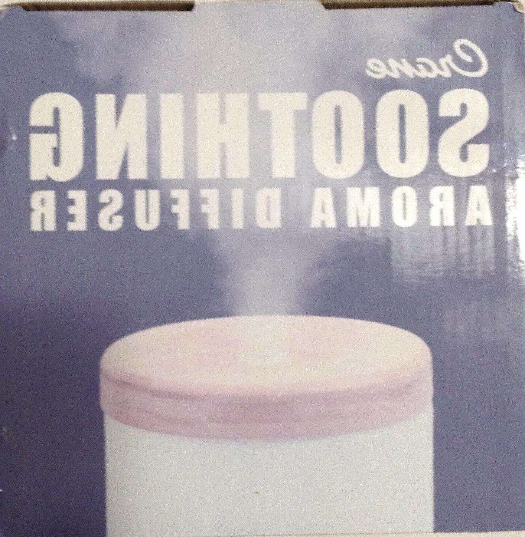 Crane Aroma Diffuser Essential Humidifier Bamboo