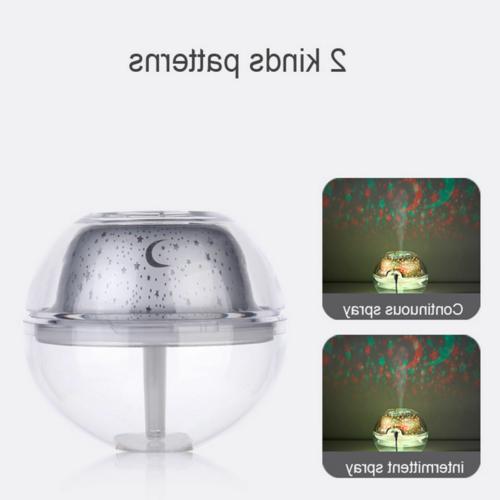 Crystal Colorful Oil Aroma LED Ultrasonic