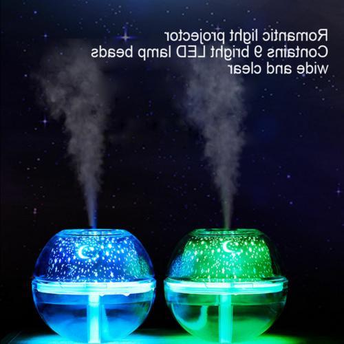 Crystal Colorful Oil Aroma Ultrasonic