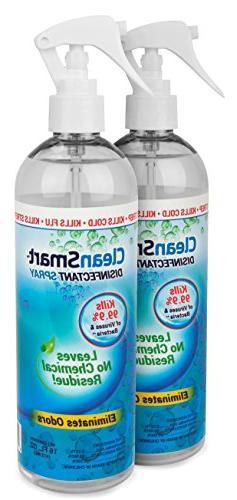 CleanSmart Disinfectant Spray Mist Kills 99.9% of Viruses, B