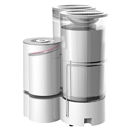 Vornado Element + Steam Humidifier Auto Aromatherapy-Ready, 2 Gallon Capacity,