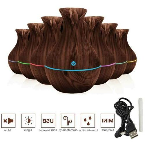 Essential Aromatherapy LED Humidifier Air