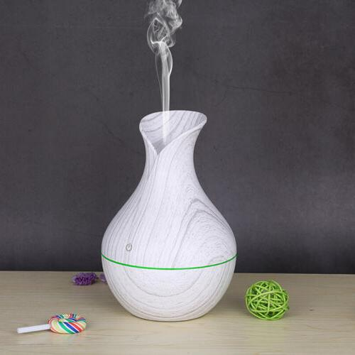 Essential Aromatherapy LED Ultrasonic Air Purifier