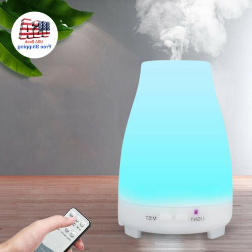 Essential Oil Cool Mist Ultrasonic 7-Color LED
