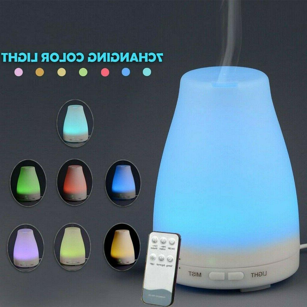 essential oil diffuser100ml aroma cool mist humidifier