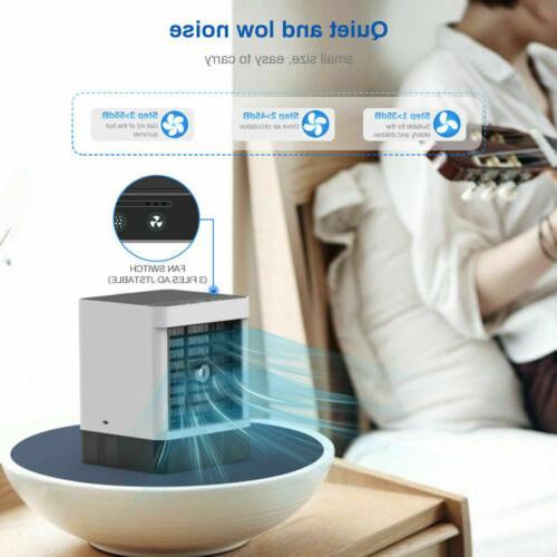 Evaporative Portable Cooler Fan Fan Humidifier