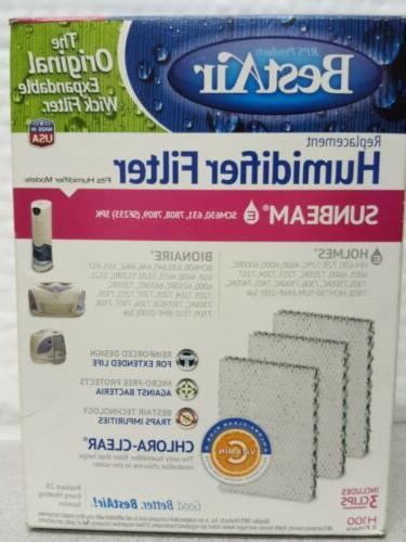 h100 3 humidifier wick filters