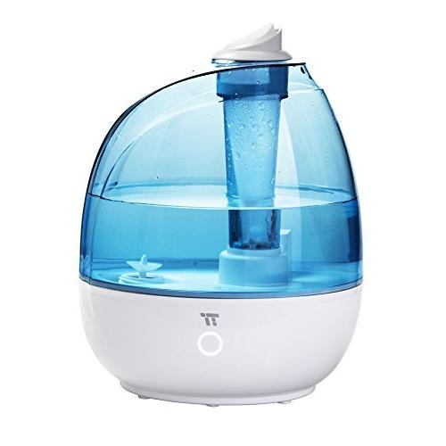 TaoTronics Mist 2L/0.5Gallon Bedroom, Baby Room, Small & Filter Free, Whisper BPA US