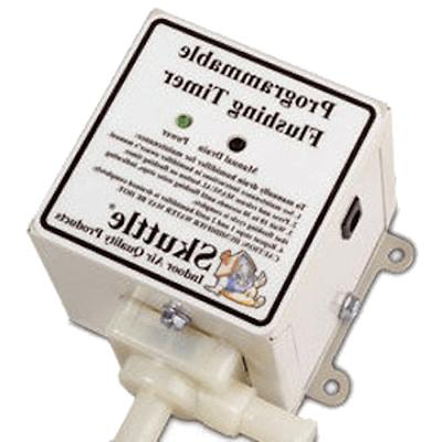 humidifier automatic flushing timer
