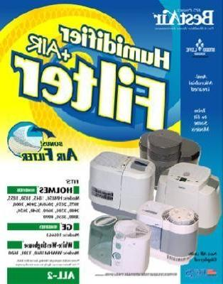Best Air Humidifier & Air Filter Fits Holmes Hm850 , 1845 ,
