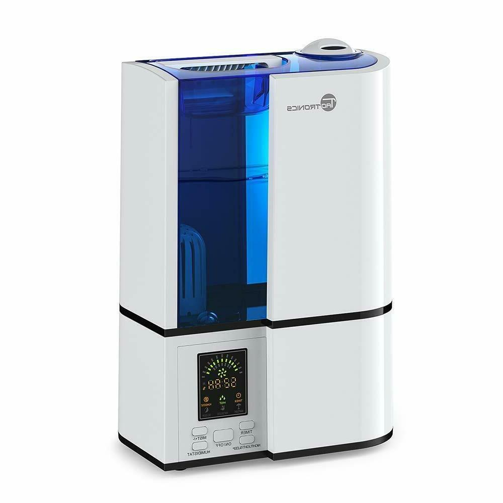 Humidifier for Bedroom 4L Cool Mist Ultrasonic Humidifier fo