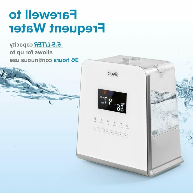 LEVOIT 5.5L Cool and Warm Mist Humidifiers