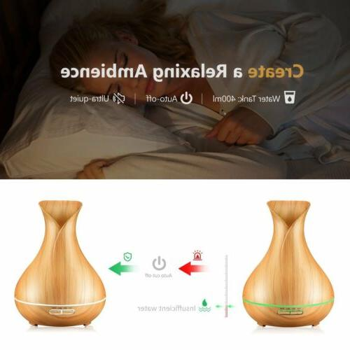 VicTsing Humidifier Aromatherapy Essential 400ml【US】