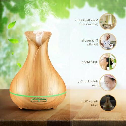 VicTsing Aromatherapy Essential Diffuser 400ml【US】