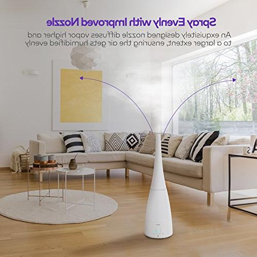 VAVA Humidifier with Control, Ultrasonic Humidifiers Timer, Low