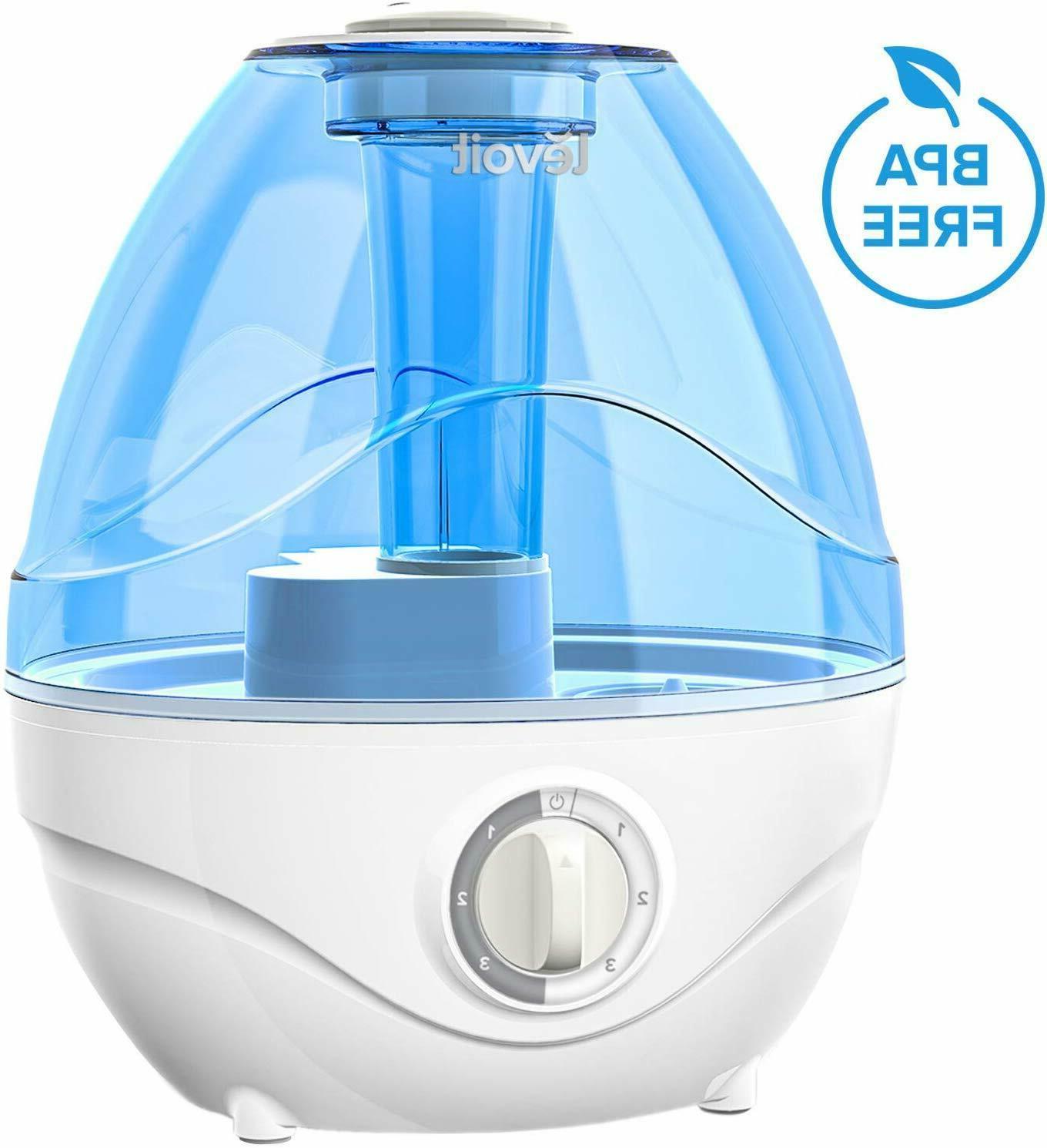 humidifiers 2 4l ultrasonic cool mist humidifier