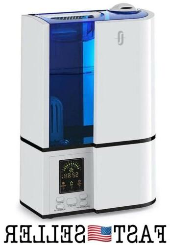 humidifiers for bedroom 4l cool mist ultrasonic