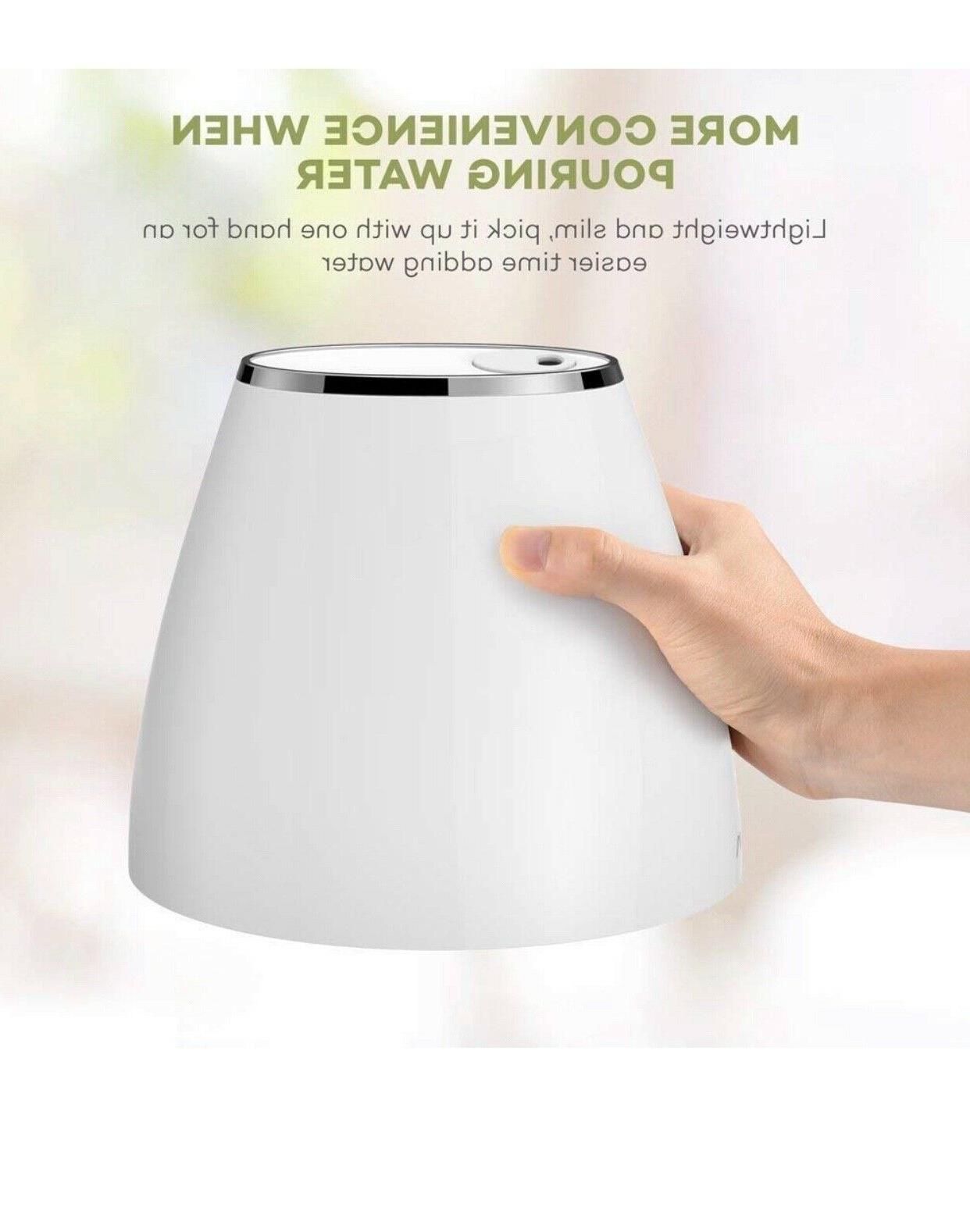 VAVA Humidifiers for Bedroom, Quiet and Small Ultrasonic Humidifier