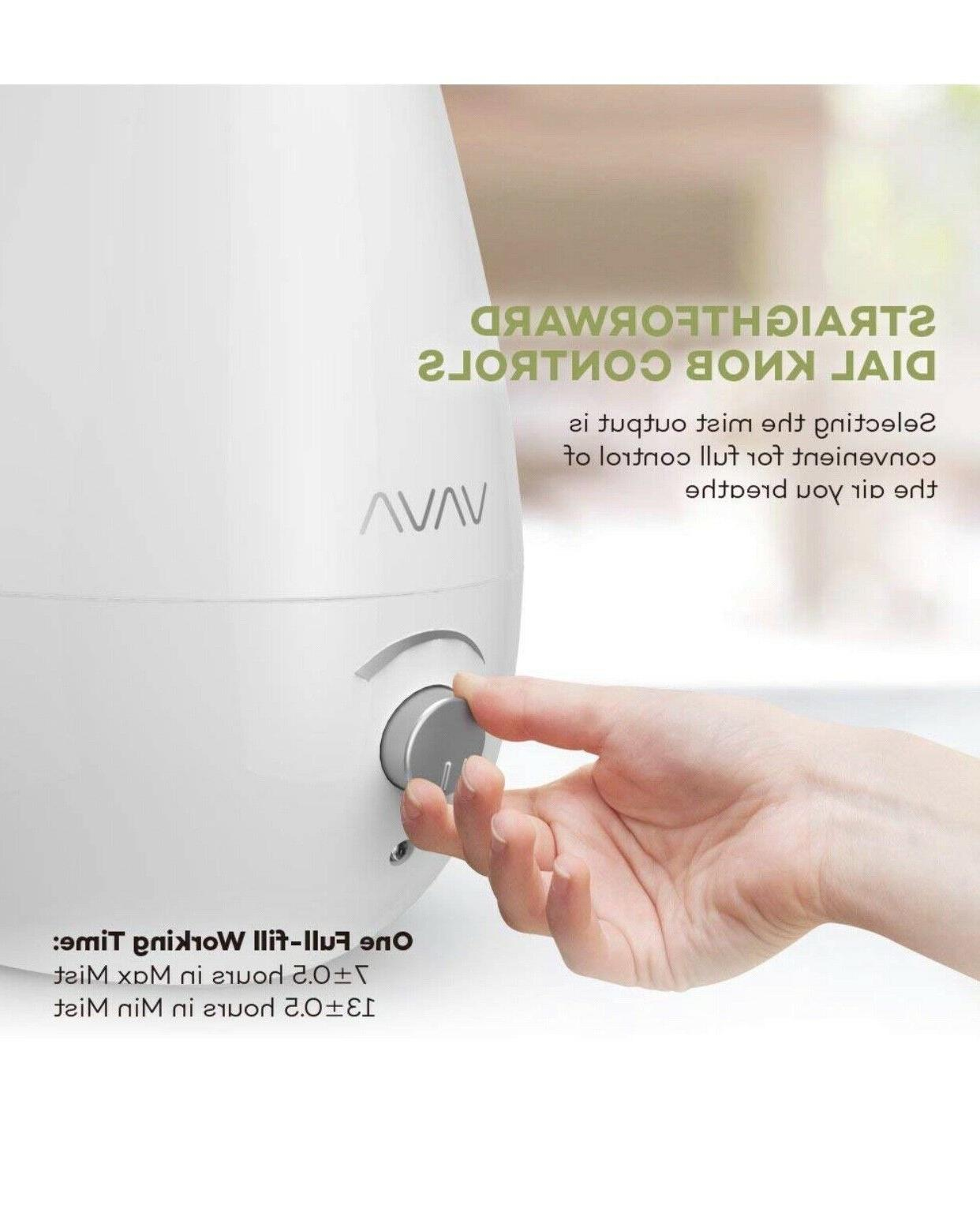 VAVA for Quiet and Ultrasonic Humidifier