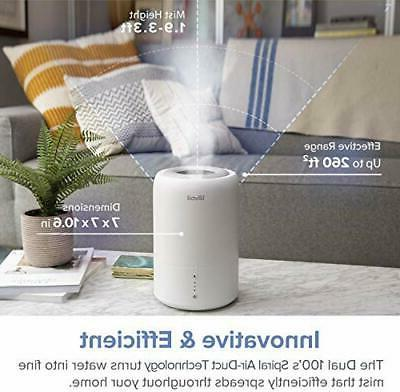 LEVOIT Humidifiers Bedroom, Top Cool Ultrasonic Humidifier