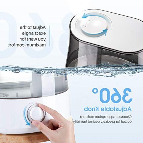 Homasy Humidifiers with Ultrasonic Capacity, Mist Unit with