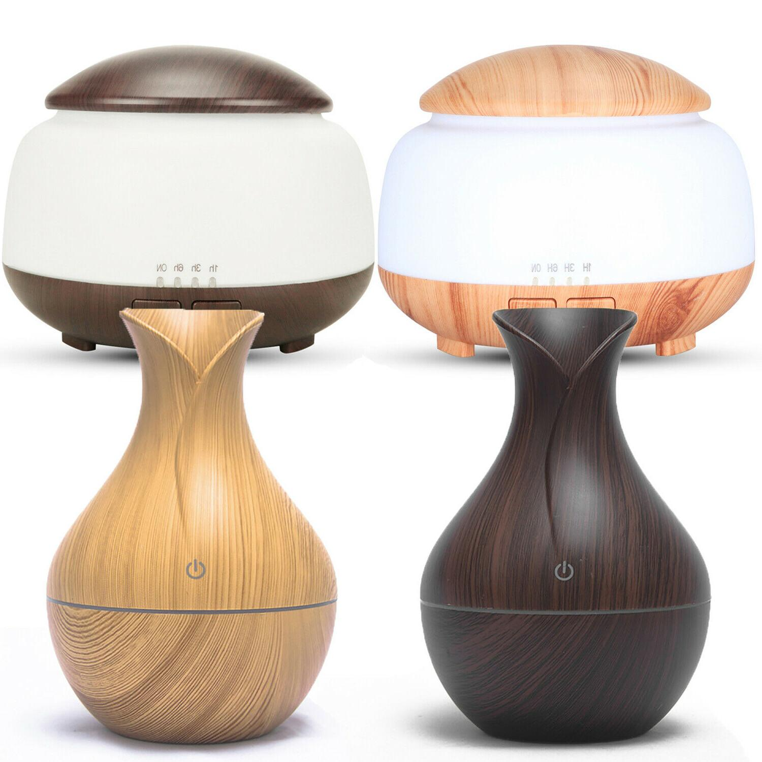 intelligent 7 led humidifier essential oil diffuser