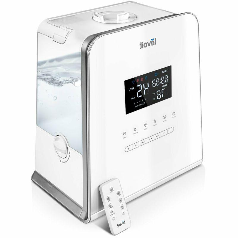 LEVOIT Humidifier, Capacity 5.5L Cool and Mist Ultrasonic