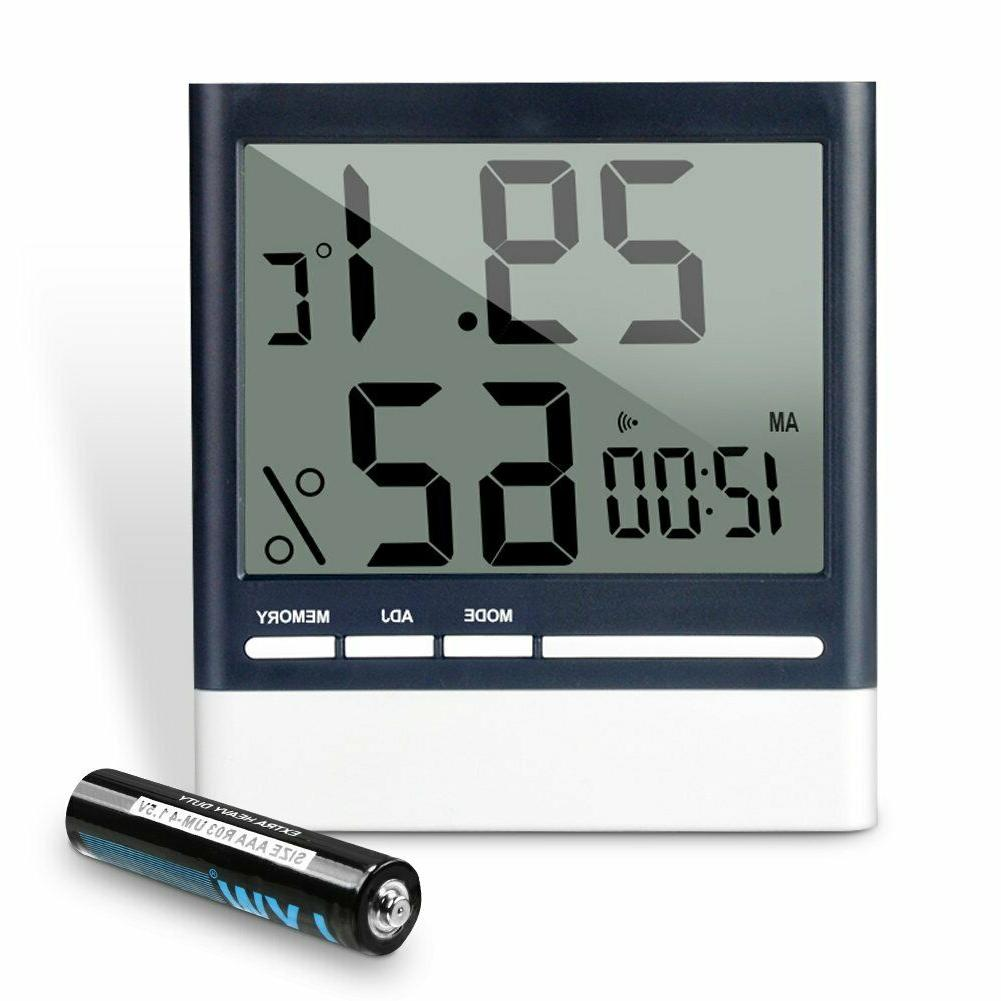 LCD Digital Indoor Hygrometer Thermometer,Humidity Monitor a