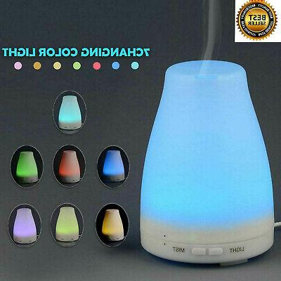 100ml Essential Oil Diffuser Humidifier Aromatherapy Ultraso