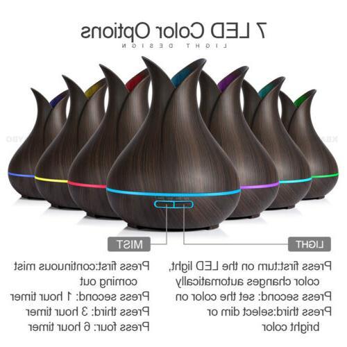 LED Purifier Air Diffuser Humidifier USA