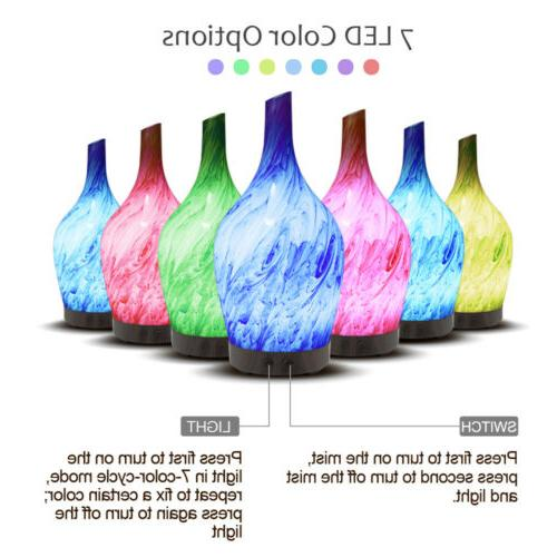 LED Purifier Aromatherapy Air Diffuser Humidifier