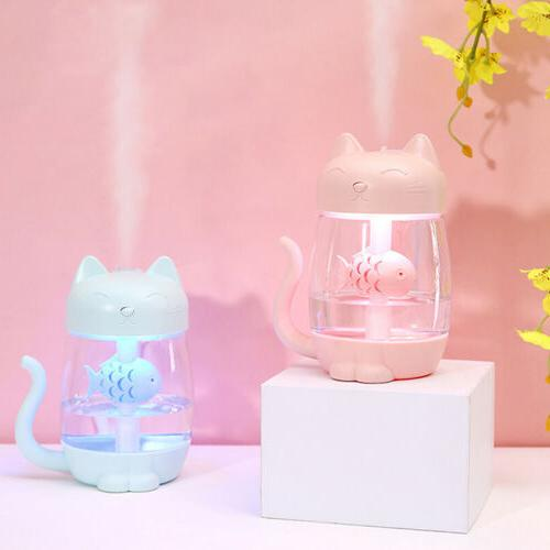 led ultrasonic aroma humidifier air aromatherapy essential